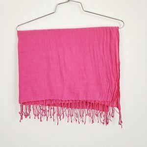 Fuchsia scarf   BCBG